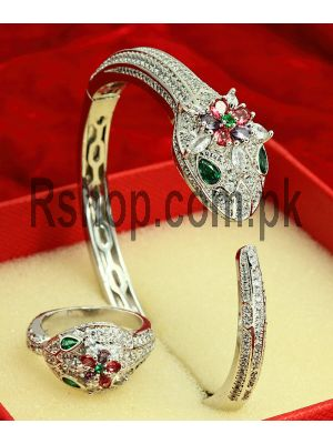 Bvlgari Serpenti Bracelet With Ring ( High Quality ) Price in Pakistan