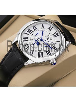 Cartier Drive De Cartier Moon Phases Watch Price in Pakistan