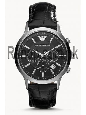 Emporio Armani Chronograph Black Dial Men's Watch AR2447  (Same as Original) Price in Pakistan