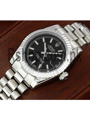 Rolex Lady-Datejust Black Dial Watch Price in Pakistan